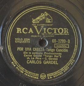Carlos Gardel-Por una cabeza